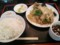 肉野菜炒め定食@南京亭