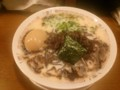 [哲麺][ラーメン][☆☆]豚骨塩+味玉+キクラゲ@哲麺