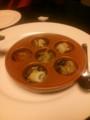 [四時][イタリアン]つぶ貝のブルギニオン