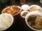 酢豚とラーメン餃子定食@東京亭