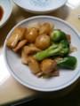 [サカエヤ茶楼]豚肉と茸のオイスターソース炒め@サカエヤ茶楼