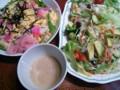 ちらし寿司&サラダ