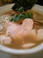 [ラーメン][☆☆][纏]烏賊干し鶏白湯そば@纒