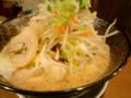 [哲麺][ラーメン][☆☆]たっぷり野菜ラーメン@哲麺