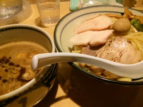 濃厚つけ麺@朧月