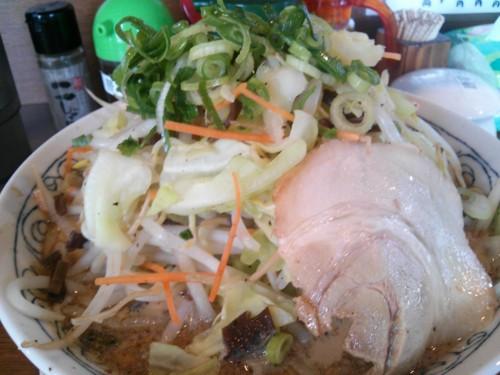 野菜たっぷりラーメン@哲麺
