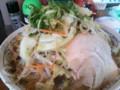 [哲麺][ラーメン][☆☆]野菜たっぷりラーメン@哲麺