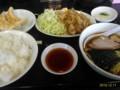 [ラーメン][東京亭]豚の生姜焼きラーメン餃子セット@東京亭