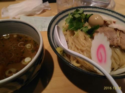 鶏と魚介の塩つけ麺@朧月