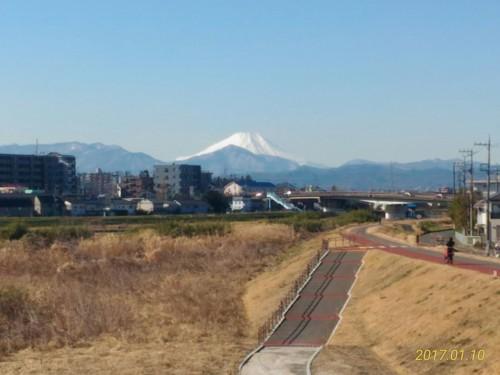 久々に富士山