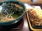 かけ大根蕎麦大盛+かき揚げ@花園蕎麦