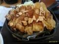 [からやま][☆☆] 鉄板からテキ定食@からやま