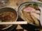 鶏魚介塩つけ麺@朧月