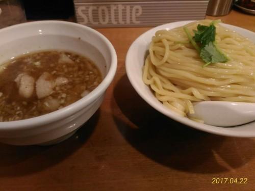 ガーリック肉塩つけ麺@桜坂