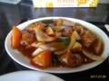 [東京亭]酢豚とラーメン餃子セット@東京亭