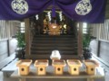 [神社]お祭りの飾りつけ