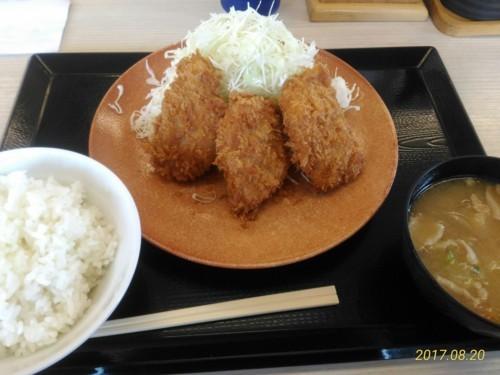 ヒレカツ定食@かつや