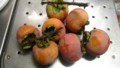 [初物]柿