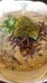 [哲麺][☆☆]醤油豚骨ラーメン+チャーシュー+キクラゲ
