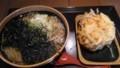 [花園蕎麦]かけ大根蕎麦+かき揚げ