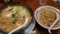 [ラーメン][幸楽苑][☆]味噌野菜ラーメン+半チャーハン