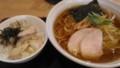 [纏][ラーメン][丼][☆☆]平子煮干葱そば+ミニチャーシュー丼