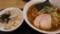 平子煮干葱そば+ミニチャーシュー丼