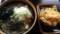 大根蕎麦+かき揚げ