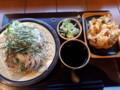 [花園蕎麦][蕎麦]大根蕎麦+かき揚げ