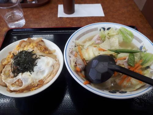 タンメン+ミニ玉子丼