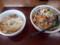 野菜うどん&ミニかき揚げ丼