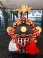 神社]子供神輿