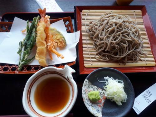 天ぷら蕎麦