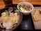 塩豚丼+温玉ぶっかけ+とり天