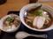 鶏ラーメン+ミニチャーシュー丼