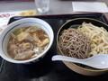 [山田うどん][蕎麦]肉汁合い盛