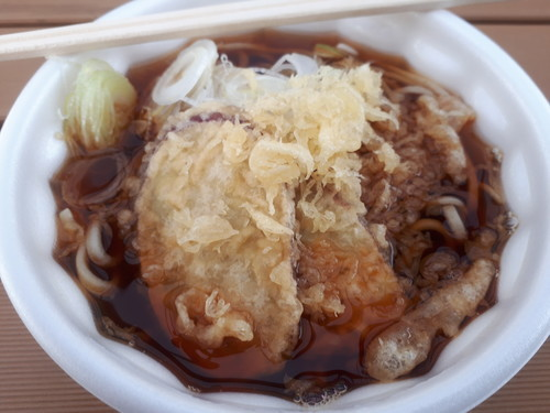 ミニかけ蕎麦(薩摩芋天はサービス)
