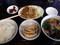 豚肉の炒めラーメン餃子セット