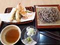 [蕎麦][☆☆☆][道の駅にしかた][農村レストラン]手打ち天ぷら蕎麦