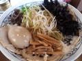 [哲麺][ラーメン][☆☆]全部のせ