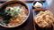 けんちん蕎麦+かき揚げ