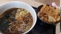 [高幡蕎麦][蕎麦]ミニかき揚げ丼セット