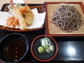 [蕎麦][☆☆][道の駅にしかた][農村レストラン]天ぷら蕎麦