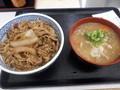 [吉野家][丼]牛丼+とん汁