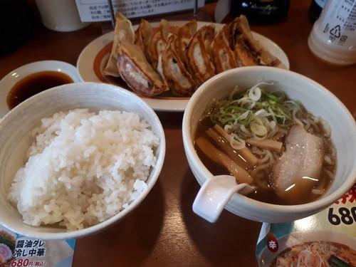 W半ラー定食