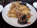 [南京亭][☆]キクラゲと卵炒め定食