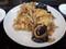 キクラゲと卵炒め定食