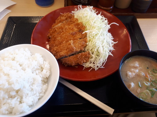 ロースカツ定食竹