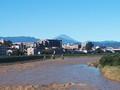 [台風19号][富士山]濁流と富士山