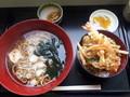 [そば処はな][丼][蕎麦][☆☆☆][道の駅]かけ蕎麦セット